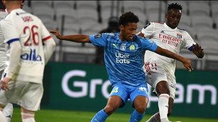 Aouar risponde a Payet: Lione-Marsiglia pari.Rennes e Lille in vetta