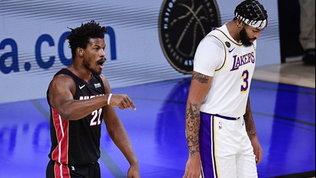 Butler tiene viva Miami e riapre la serie contro i Lakers