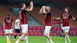 Milan: Romagnoli e Rebic vedono il derby, ancora ansia per Ibra