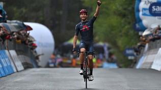Giro d'Italia, le immagini del trionfo di Ganna