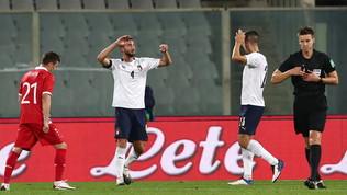 Le migliori foto di Italia-Moldova 6-0
