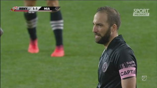 Mls, bomba all'incrocio per Higuain. Primo gol con Miami