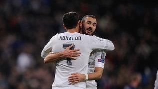 """Ora Benzema si sente libero: """"Prima ero costretto a giocare per Ronaldo"""""""