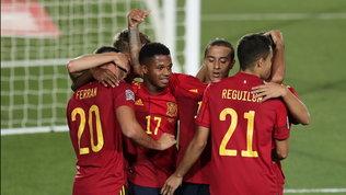 Nations League, tre match in esclusiva: si parte con Spagna-Svizzera
