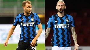 Inter, Conte studia il centrocampo per il derby: Brozovic o Eriksen