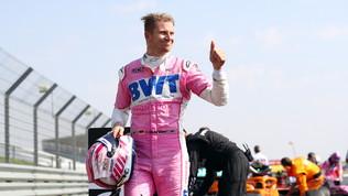 Strolldà forfait per un malessere: Hulkenberg sulla sua Racing Point