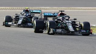 Tra Hamilton e Verstappen gode Bottas