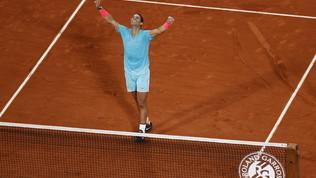 Nadal show: e sono 13! Djokovic annientato in treset