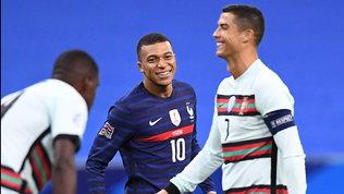 Francia-Portogallo finisce senza reti, Eriksen lancia la Danimarca