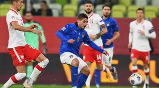 L'Italia corre ma non sfonda, la Polonia imbriglia gli Azzurri