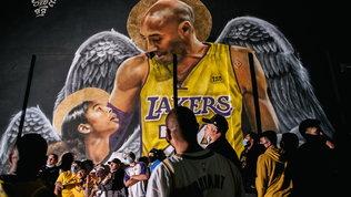 Los Angeles in festa per il 17.mo anello: tutti al murales di Bryant