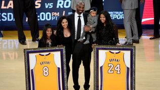 """Anche Vanessa Bryantcelebra i Lakers: """"Vorrei che Kobe e Gigi vedessero"""""""