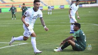 L'Argentina ribalta 2-1 la Bolivia con Lautaro e Correa VIDEO