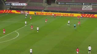 Germania-Svizzera che spettacolo: è 3-3