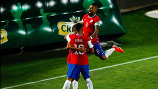Vidal-Sanchez in gol per il Cile, Neymarsupera Roniee fa volare il Brasile
