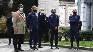 Italia e Olanda unite a Bergamo nell'omaggio alle vittime del Covid