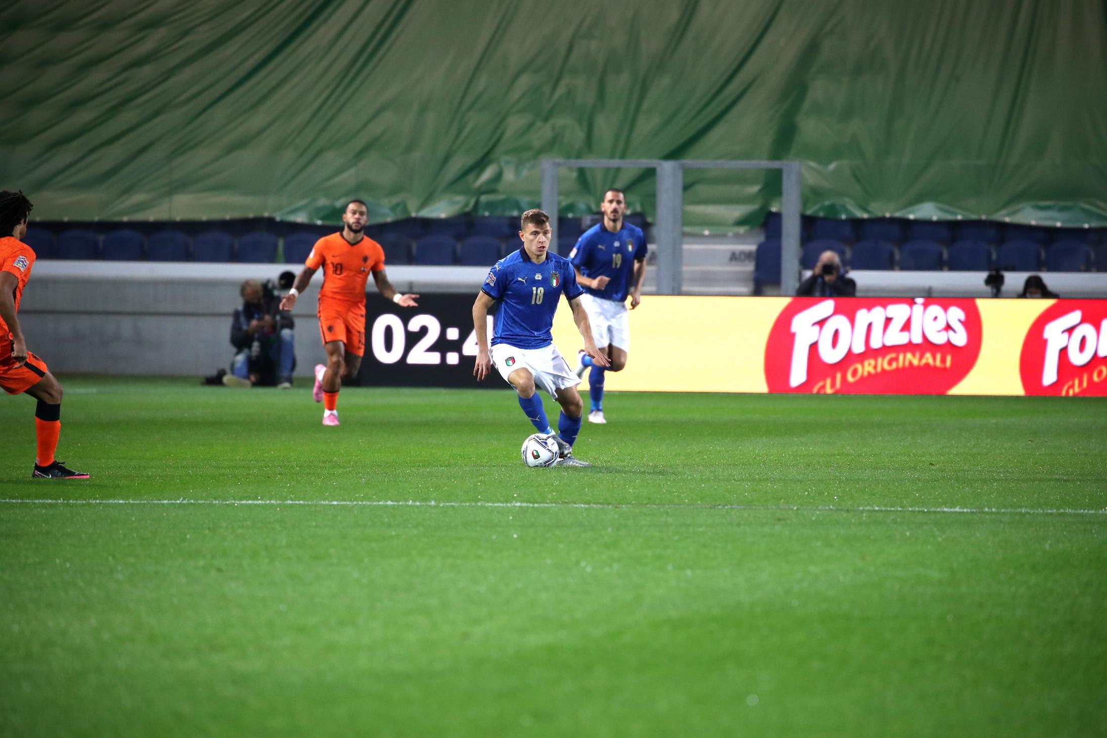 Italia-Olanda 1-1 in foto.<br /><br />