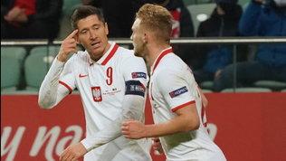 Lewa stende la Bosnia, Lukaku trascina il Belgio: Francia e Portogallo ok