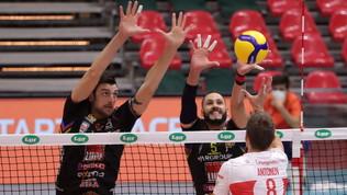 Nessuna sorpresa:Perugia piega Cisterna, Civitanova passa a Piacenza