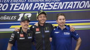 """Yamaha, rebus per sostituire Rossi: """"Lorenzo? Non è pronto"""""""
