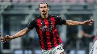 Ibra domina il derby e sfata il tabù: Milan primo in solitaria