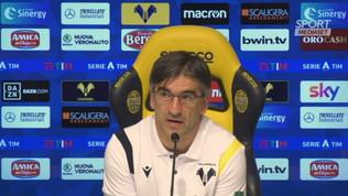 """Verona, Juric: """"Non datemi obiettivi irraggiungibili"""""""