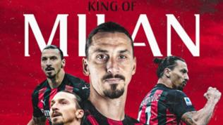 """Il Milan 'corregge'Lukaku: """"Il re di Milano è solo Ibrahimovic"""""""