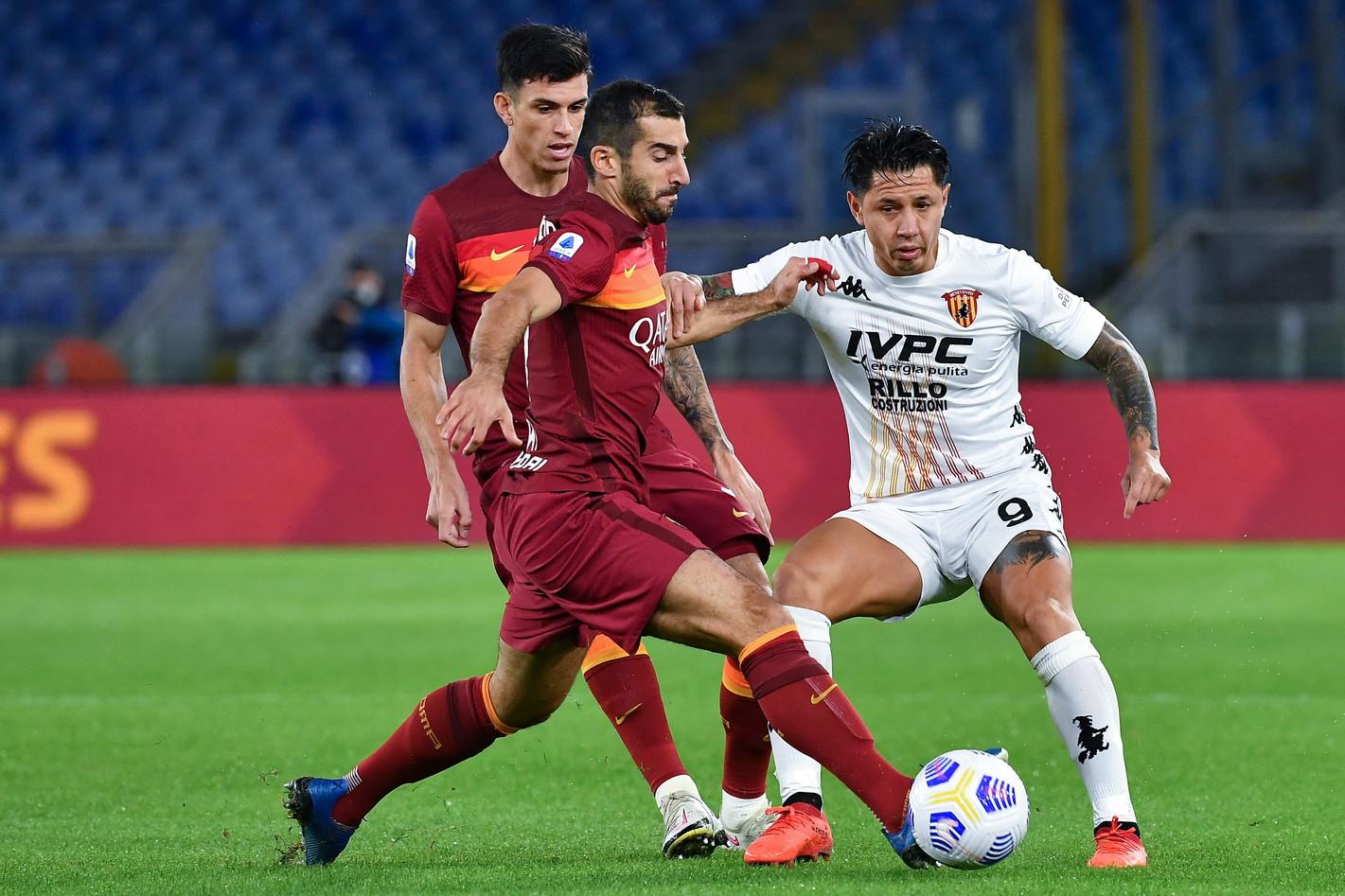 Roma-Benevento 4-2, le migliori foto<br /><br />