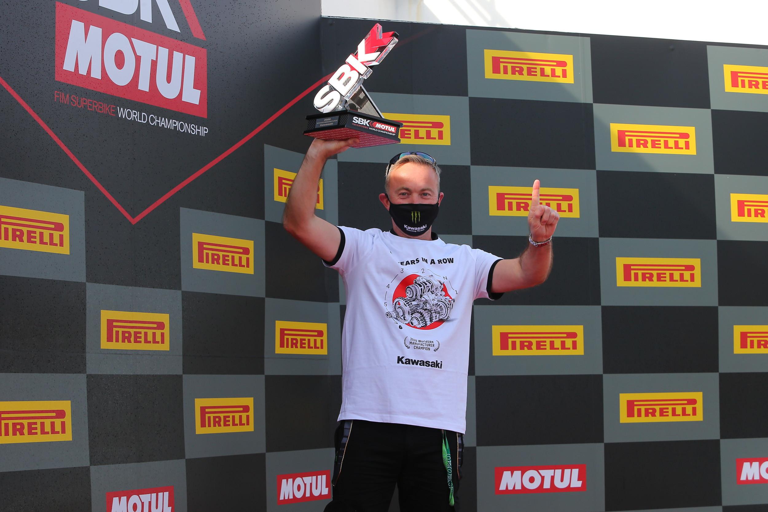 Kawasaki campione Superbike