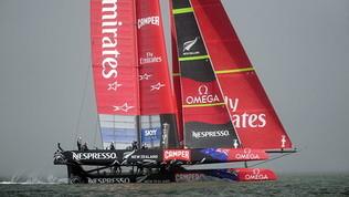 America's Cup: varata ad Auckland la nuova Luna Rossa