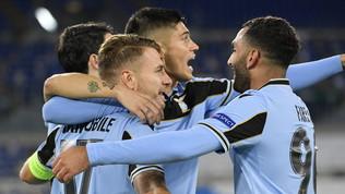 Lazio da sballo in Champions: Dortmund battuto 3-1