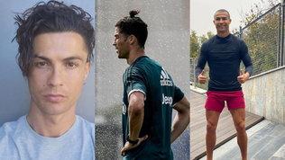 Ronaldosceglie di rasarsi quasi a zero: tutti i look del portoghese