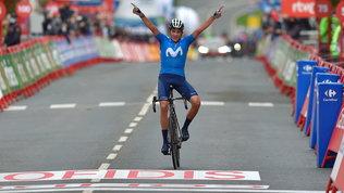 Soler, prima gioia nella corsa di casa.Roglic resta leader