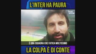 """Lapo De Carlo: """"L'Inter ha paura, la colpa è di Conte"""""""