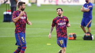"""Piquéattacca il Barça: """"Messi? Oltraggioso, gli ho chiesto io di resistere"""""""