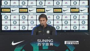 """Inter, Conte: """"Affrontiamo le assenze a testa alta"""""""