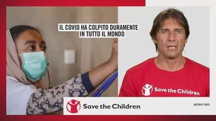 Serie A in campo per Save the Children, l'appello di Conte