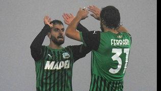 Sassuolo-Torino: pari show nella nebbia