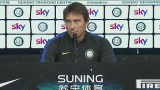 """L'Inter a Genova, Conte: """"Strada giusta"""""""