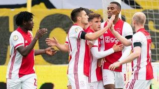 Ajax, record da sballo: 13 gol al Venlo, Atalanta avvisata