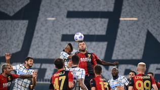 Genoa-Inter, le immagini del match