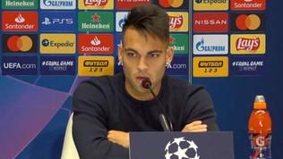 """Lautaro: """"Oggi felice all'Inter, domani non so. A Genova arrabbiato con me stesso"""""""