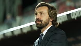 """Pirlo: """"Chiellini e De Ligt out, Bonucci da valutare. CR7, stasera l'esito"""""""