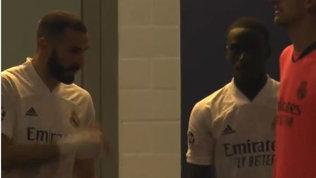 """Bufera Real, Benzema: """"Non dare la palla a Vinicius"""" VIDEO"""