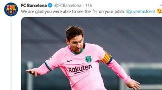 """Messi-CR7, la Juve al Barcellona: """"Il vero Goat ve lo portiamo noi al Camp Nou"""""""