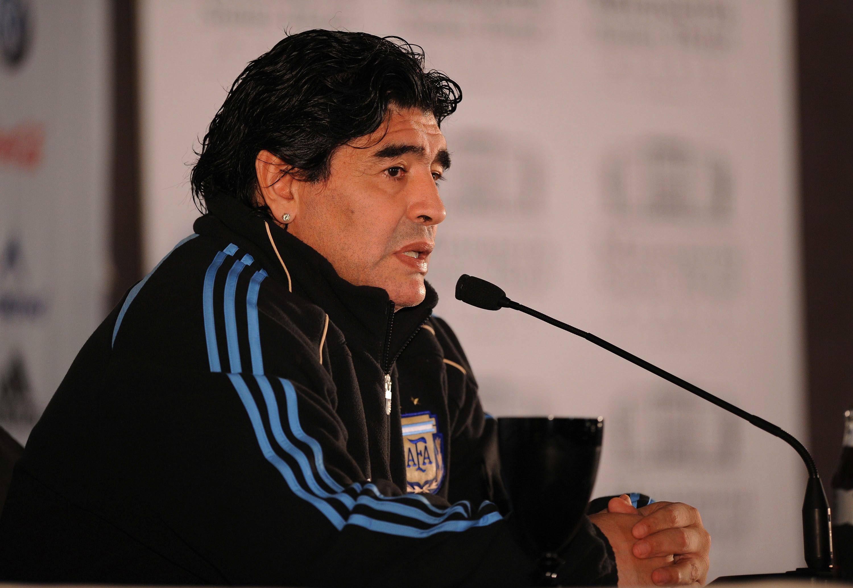 Maradona è stato CT dell'Argentina dal 2008 al mondiale 2010.