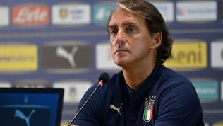 """Nazionale, l'urlo di Mancini: """"Pochi italiani giocano in Serie A"""""""