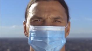 """Ibrae il Covid: """"Non siete Zlatan, non sfidate il virus"""""""