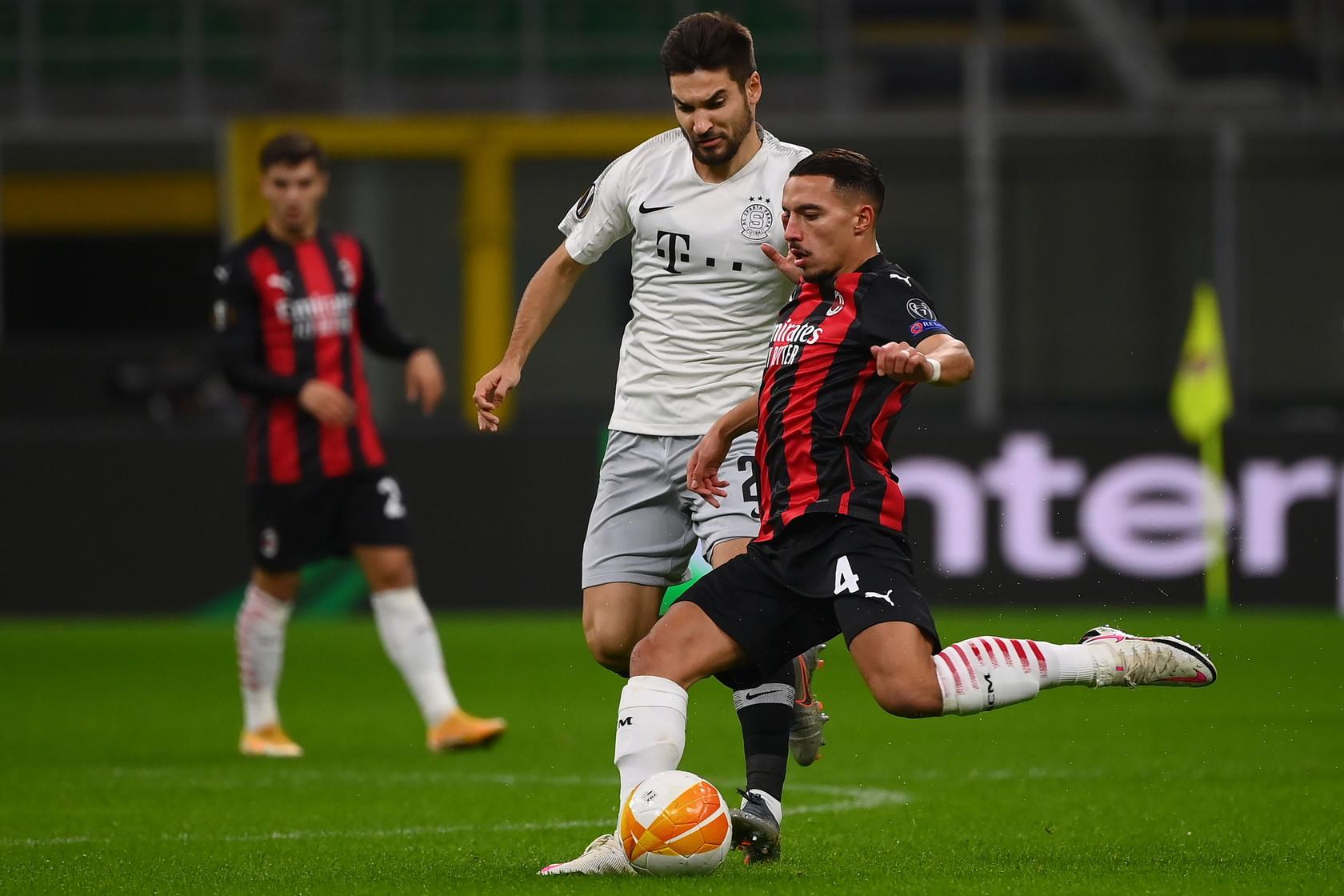 Milan-Sparta Praga 3-0, le migliori foto.<br /><br />