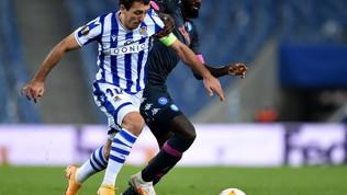Real Sociedad-Napoli, le immagini del match